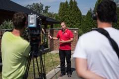 natáčení pořadu Polopatě s Českou televizí