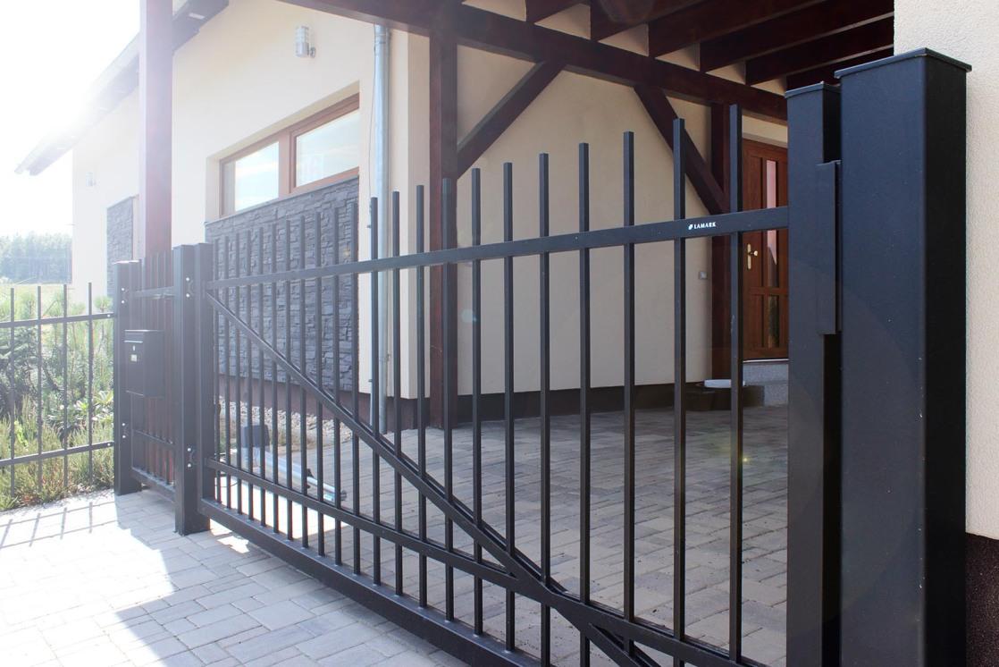 Otočná brána jednokřídlá