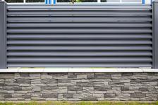 Hliníkové oplocení | motiv Lugo | šedá antracitová barva