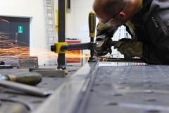 Výroba vjezdové brány