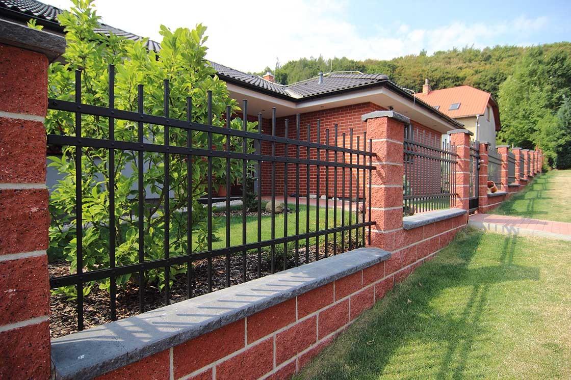 kované plotové dílce LAMARK v motivu Verona