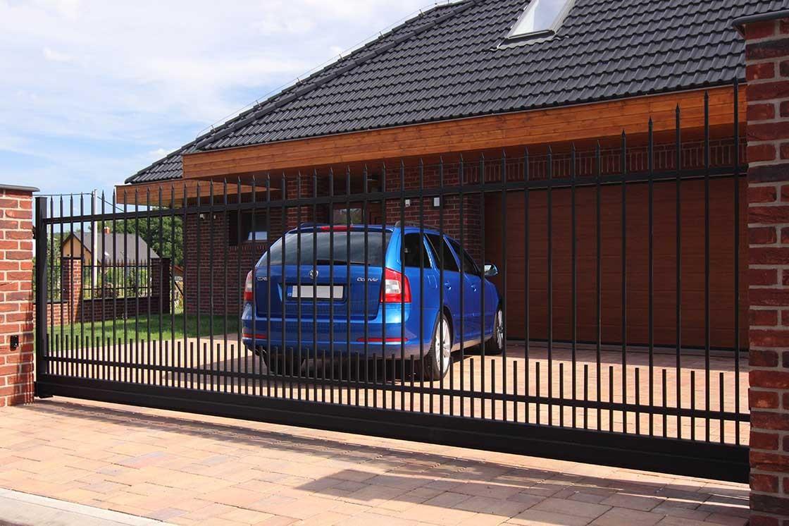 kovaná vjezdová brána LAMARK
